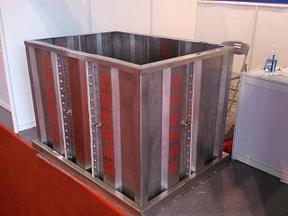北京螺装不锈钢肋板水箱