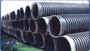 HDPE双壁波纹管,排污管,塑料管