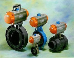 供应进口气动蝶阀,AIRTORQUE气动执行器,PVC气动阀