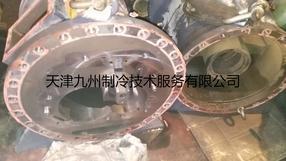 复盛SRG-810螺杆式压缩机抱轴故障维修