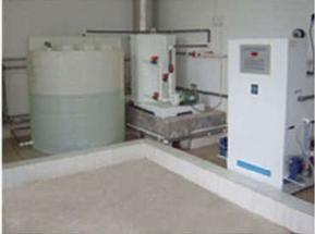 IDC系列高浓度稳定性二氧化氯活化发生投加装置