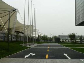 道路划线,上海道路划线