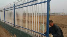 厂家锌钢围墙栅栏 组装式铁艺护栏 金属栅栏批发 锌钢护栏网