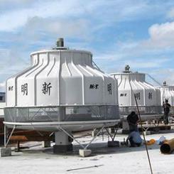 明新冷却塔厂家 圆形冷却塔 高温冷却塔