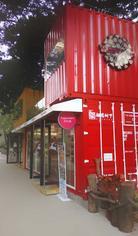 杭州集装箱景观设计 集装箱房屋设计图-大小盒子集装箱创意设计公司