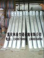 重庆防撞水马、隔离墩、防撞警示柱、护墙角设施产品批发