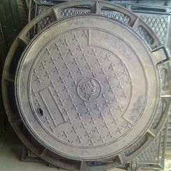 天津球墨铸铁井盖 圆形井盖