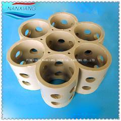 脱萘塔全瓷填料 陶瓷组合环填料 全瓷组合填料