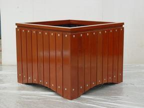 花箱MY-014L|花箱价格|塑木花箱|户外花箱|木制花箱|户外家具|满逸园林