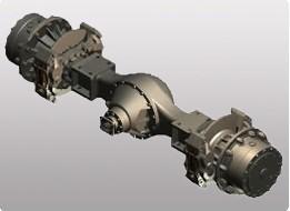 供应分宜PR50•48A压路机驱动桥