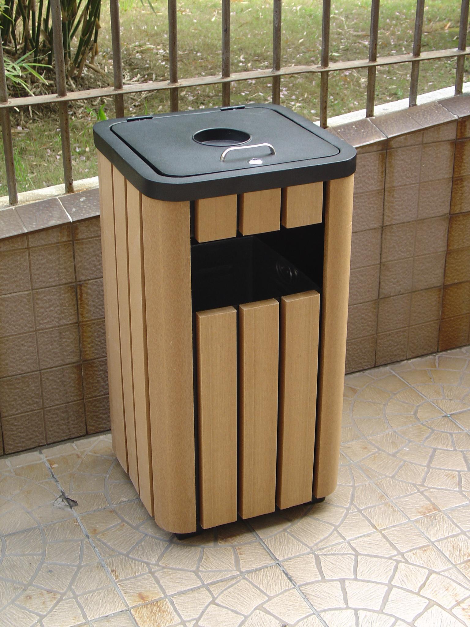 本系列垃圾箱钢结构部分