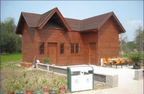 防腐木结构房屋