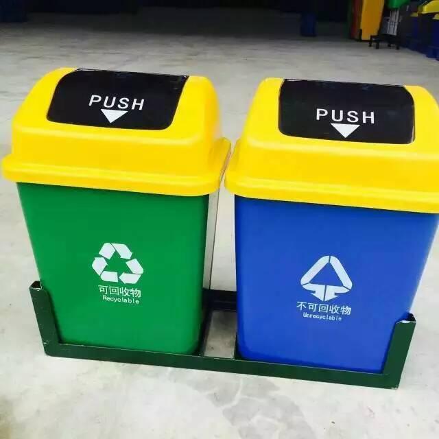物业分类垃圾桶