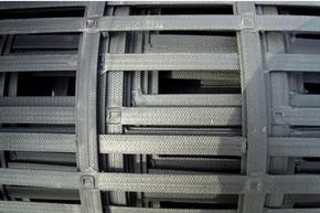 生产厂家供应陕西咸阳地区凸结点钢塑格栅