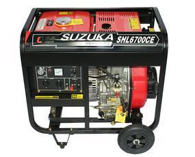 5000W小型风冷柴油发电机