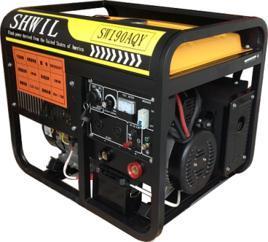 手推移动式190A汽油自发电电焊机