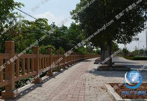 仿木景观护栏