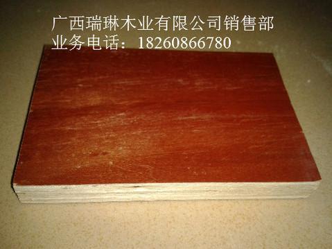 南宁红面黑边建筑模板,胶合板