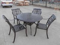 铸铝桌椅,铸铝休闲椅,