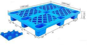 山东枣庄塑料托盘垫板(厂家生产,医药GMP)蓝格主营(滕州塑料托盘)直销