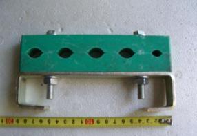 连云港防涡流电缆夹具型号 东海电缆固定夹具规格