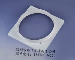 ABS塑钢方形散流器方圆风口罩