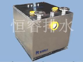 双泵内置污水排放设备