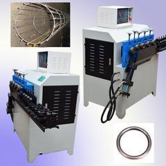 全自动电线杆打圈机 电杆架立圈数控打圈机