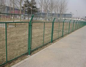 框架护栏网 边框围栏网 带框隔离网