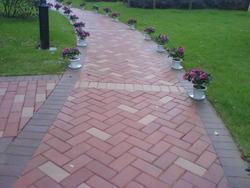 彩色道板砖、走道砖、走廊砖、防滑砖、耐磨砖