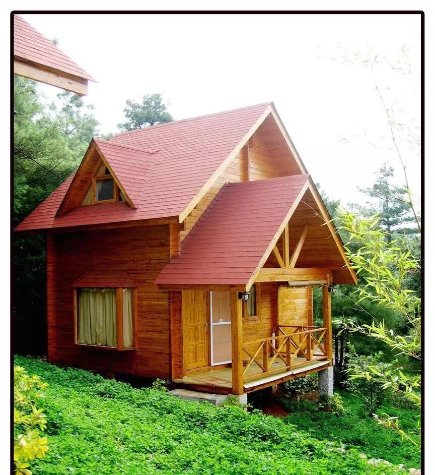 兰州防腐木木屋移动小木屋 装配式木屋安装就是快图片