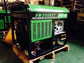 发电10千瓦新款300A柴油发电机带电焊机