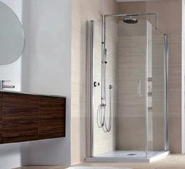 钢化玻璃浴室淋浴房