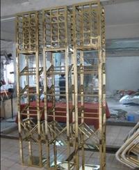 不锈钢酒架;会所不锈钢酒柜;弧形酒架