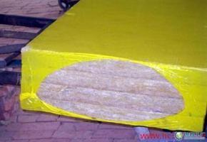 保定大型流水线岩棉板价格报价、热缩膜包装的岩棉板生产供应商