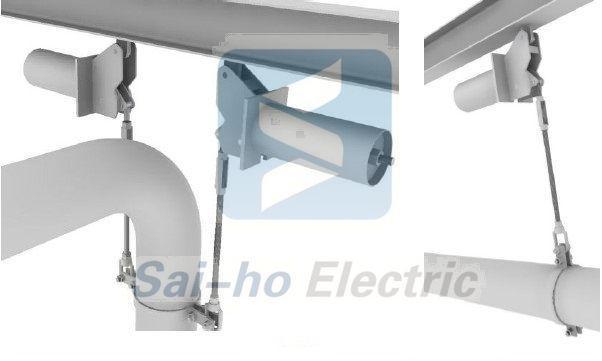 可以通过它来悬吊和支撑管道及设备,此时,当管道或设备产生位移时