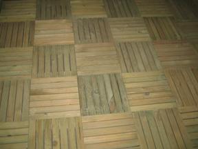 拼花防腐地板