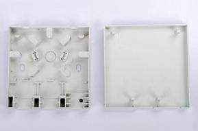 厂家直销2电1光光纤桌面盒86型光纤入户盒