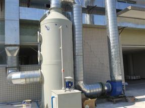 PP 喷淋塔 酸碱废气喷淋塔 废气喷淋塔