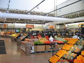 超市专用布风管