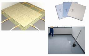 600*600直铺式陶瓷防静电地板