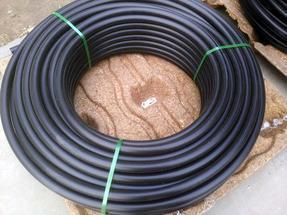 打井用PE盘管--地源热泵PE管