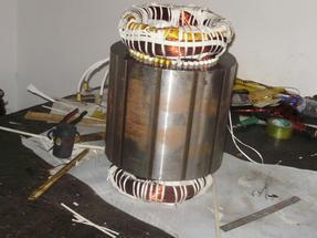 比泽尔压缩机电机烧毁维修