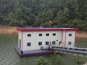 取水泵船,汲水泵站
