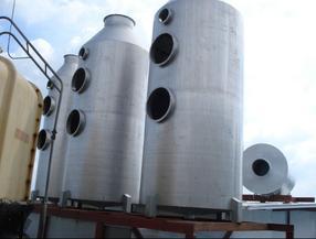 熔炉尾气脱硫净化塔|工业废气处理设备生产
