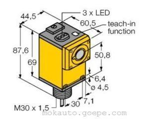 Q45ULIU64ACR美国banner邦纳光电传感器