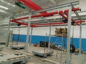 KBK柔性组合式起重机和单轨吊厂家