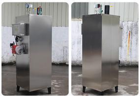 100kg全自动蒸汽发生器商用工业天然气液化气 燃气蒸汽锅炉小型