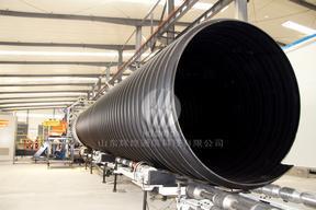 钢带增强螺旋波纹管(HDPE)