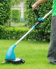 环保节能便携式直流电动割草机